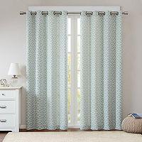 Madison Park 2-pack Claire Fret Jacquard Window Curtain