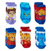 Toddler Boy Daniel Tiger's Neighborhood 6 pkLow-Cut Socks
