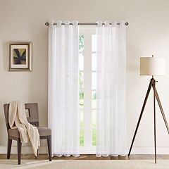 Madison Park Clarion Sheer Window Curtain