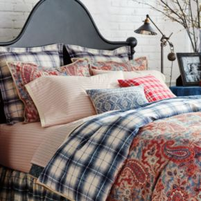 Chaps 3-piece Wilmington Island Duvet Cover Set