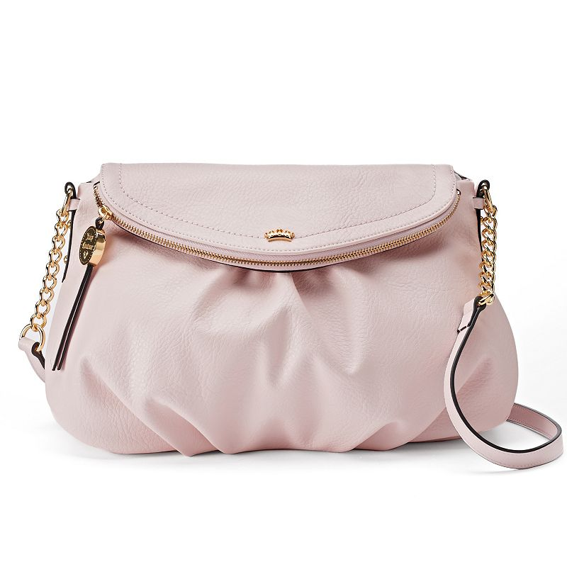 Juicy Couture Traveler Flap Crossbody Bag, Women's, Brt Pink