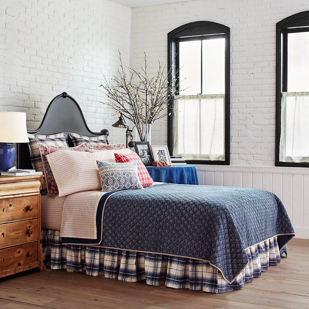 Chaps Wilmington Island Bed Skirt