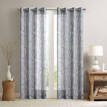 Madison Park Vina Sheer Bird Window Curtain