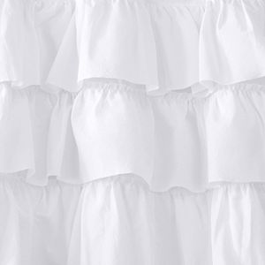 Madison Park 1-Panel Joycelyn Oversized Ruffle Window Curtain