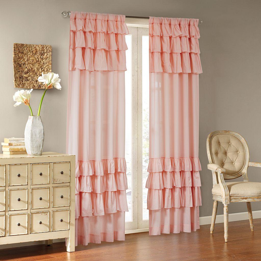 Madison Park Joycelyn Oversized Ruffle Curtain