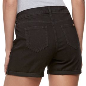 Women's Jennifer Lopez Distressed Jean Shorts