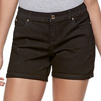Women's Jennifer Lopez Distressed Jean Shorts
