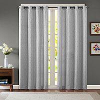 Madison Park Ezra Diamond Jacquard Window Curtain