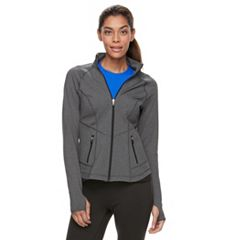 Petite Tek Gear® Shapewear Active Jacket