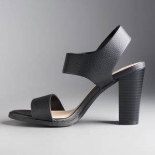 Simply Vera Vera Wang Joan Women's High Heel Sandals