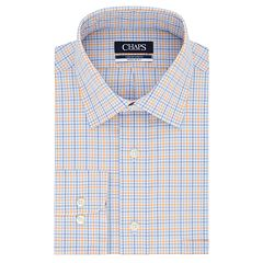 Men's Chaps Regular Fit Comfort Stretch Spread Collar Dress Shirt