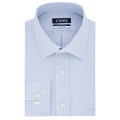 3f579714c6402 Men's Chaps Regular Fit Comfort Stretch Spread Collar Dress Shirt
