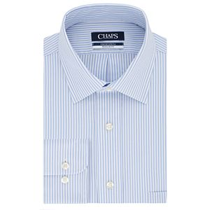 Men?s Chaps Regular-Fit Performance Engineering Comfort Stretch Spread-Collar Dress Shirt