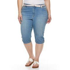 Womens Gloria Vanderbilt Crops & Capris - Bottoms, Clothing | Kohl's