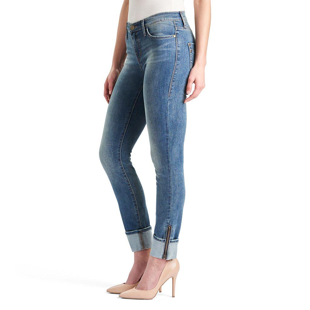 Women's Rock & Republic® Kashmiere Cuffed Skinny Jeans