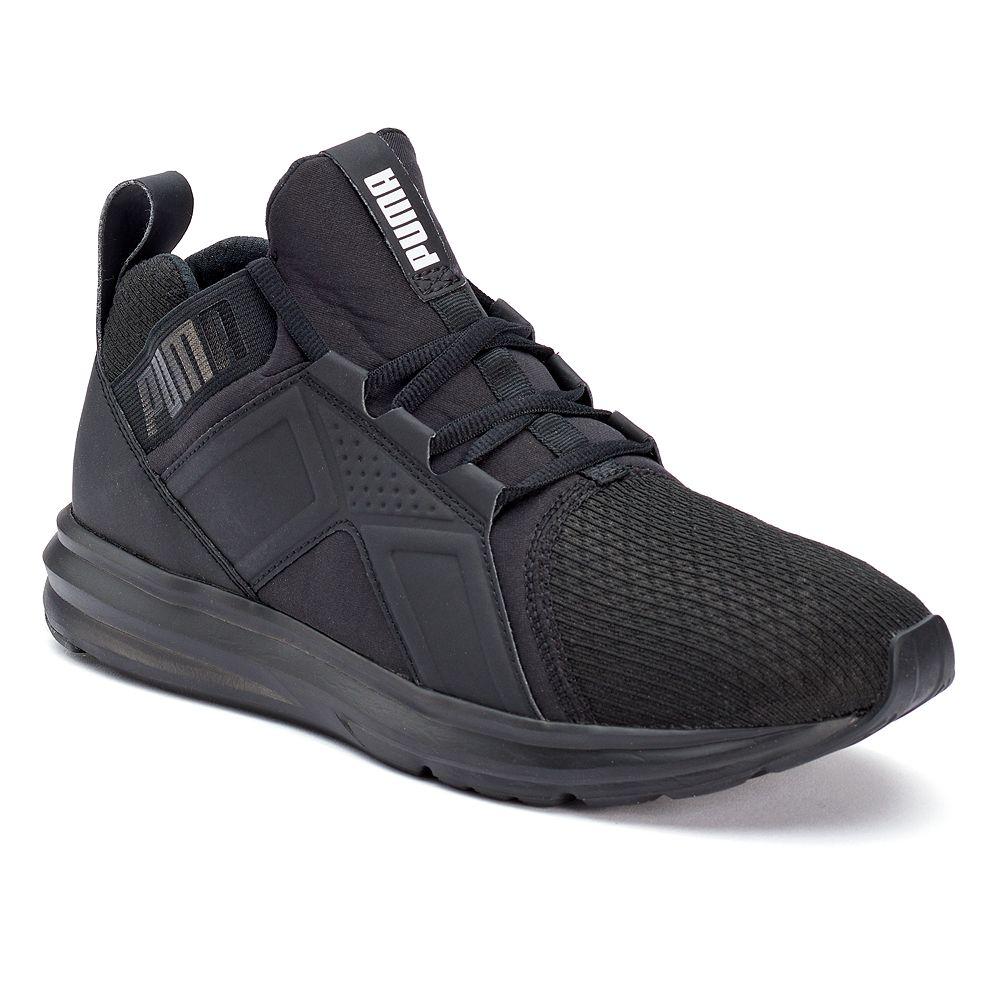 9b0cebc140f2 PUMA Enzo Men s Monochrome Sneakers