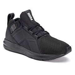 6c5e45635943 PUMA Enzo Men s Monochrome Sneakers. Black. sale