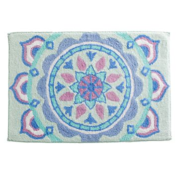 Simple By Design Medallion Bath Rug