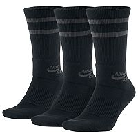 Men's Nike 3-pack Dri-FIT Skateboard Performance Crew Socks