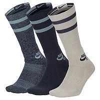 Men's Nike 3-pack Dri-FIT Skateboard Performance Crew Socks