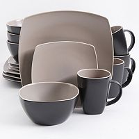Gibson Home Soho Lounge 16-pc. Square Dinnerware Set