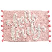 Simple By Design Hello Lovely Bath Rug