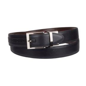 Big & Tall Croft & Barrow® Double-Stitched Feather-Edge Belt