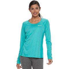 Women's Nike Dry Miler Long Sleeve Running Top