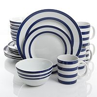 Gibson Home Just Dine Bistro Edge 16-pc. Dinnerware Set