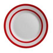 Gibson Home Just Dine Bistro Edge 4-pc. Dessert Plate Set