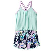 Girls 7-16 FILA SPORT® Mixed Print Romper