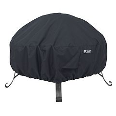 Black Small Round Fire Pit Cover
