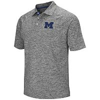 Men's Campus Heritage Michigan Wolverines Slubbed Polo