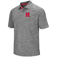 Men's Campus Heritage Rutgers Scarlet Knights Slubbed Polo