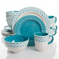 Gibson Home General Store Cottage Chic 16-pc. Dinnerware Set