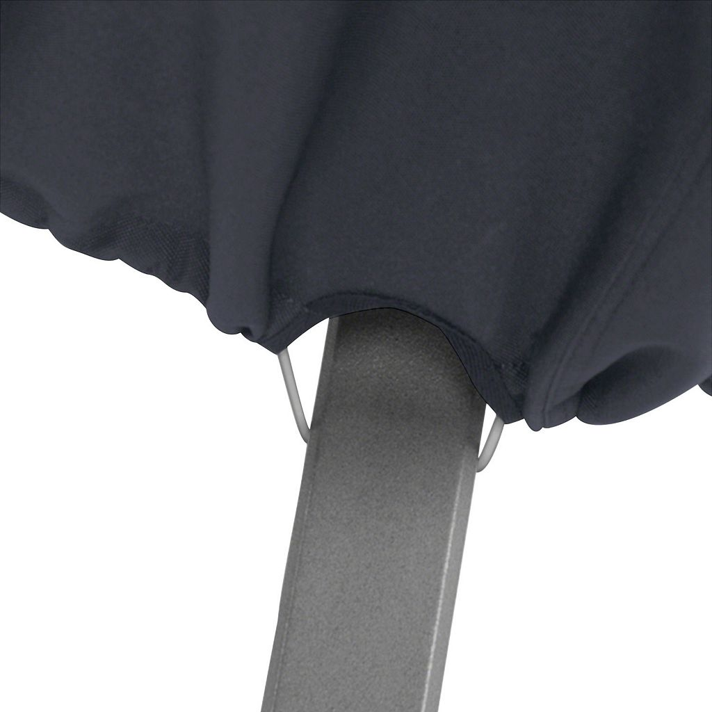 Black 42-in. Square Fire Pit Table Cover