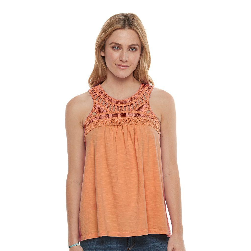 Women's SONOMA Goods for life™ Crochet Tank