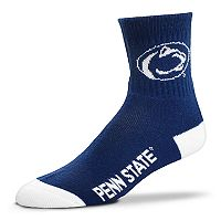 Adult For Bare Feet Penn State Nittany Lions Team Color Quarter-Crew Socks