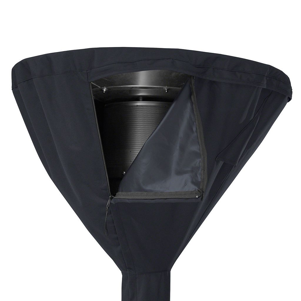 Black Patio Heater Cover