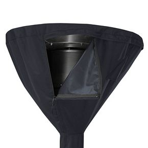 Black Patio Heater Cover