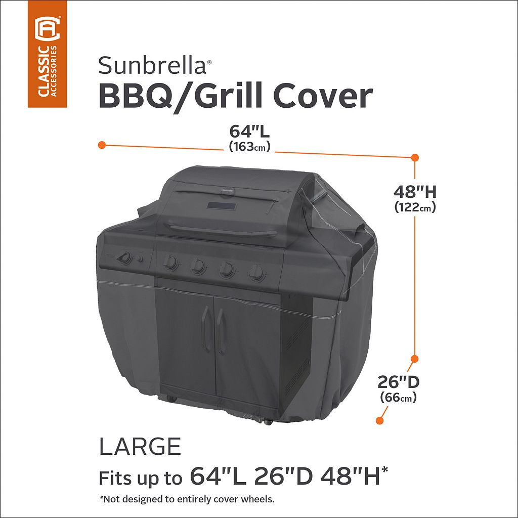 Sunbrella Large Patio Grill Cover
