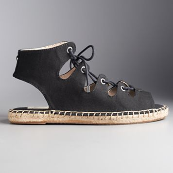 Simply Vera Vera Wang Delores Women's Espadrille Sandals