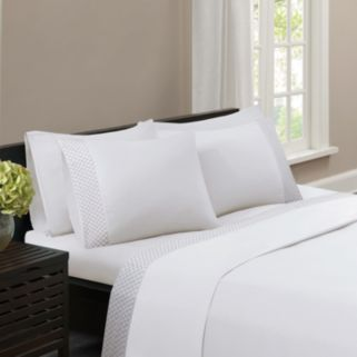 Madison Park Embroidered Sheet Set