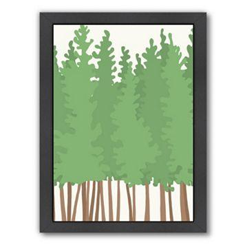 Americanflat Big Trees Framed Wall Art