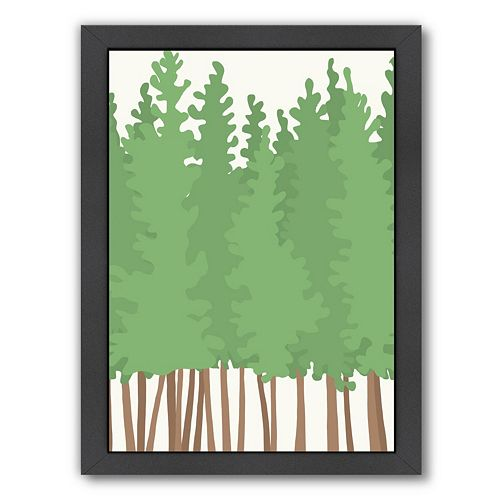 Americanflat Big Trees Framed Wall Art