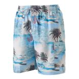 Big & Tall Croft & Barrow® Tropical Microfiber Swim Trunks