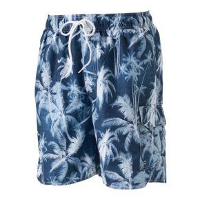 Big & Tall Croft & Barrow® Tropical Microfiber Swim Trunks