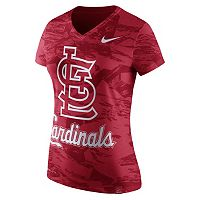 Women's Nike St. Louis Cardinals Pattern Dri-FIT Tee