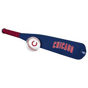 Rawlings Chicago Cubs Foam Bat & Baseball Set