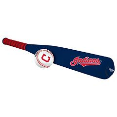 Rawlings Cleveland Indians Foam Bat & Baseball Set